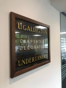 Ugalde and Sons - our new premises